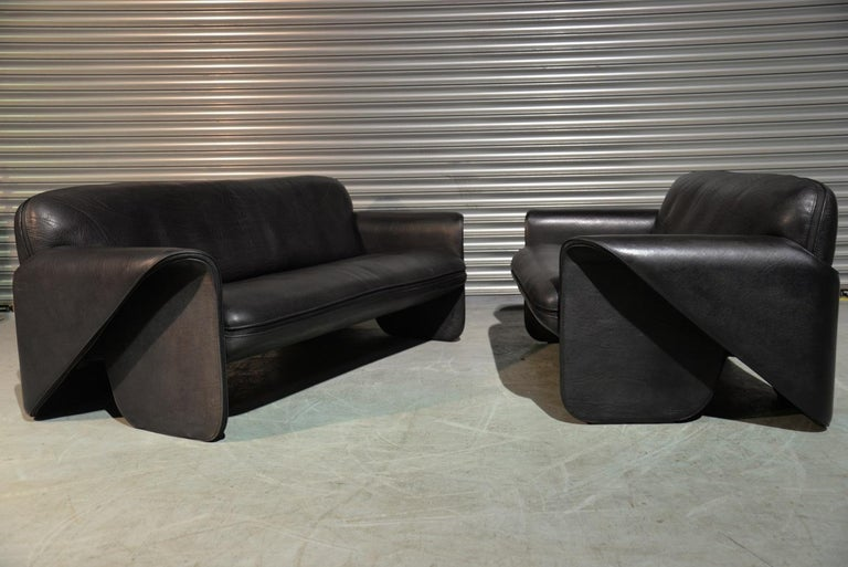 Vintage Swiss De Sede DS 125 Sofas Designed by Gerd Lange, 1978 In Good Condition For Sale In Cambridgeshire, GB