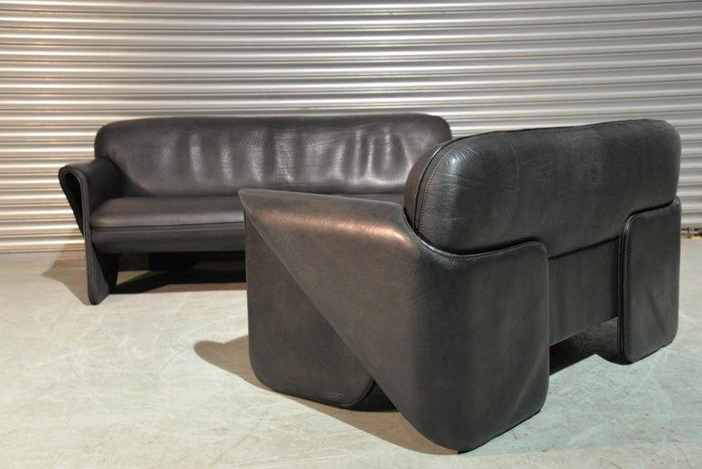 Vintage Swiss De Sede DS 125 Sofas Designed by Gerd Lange, 1978 For Sale 1