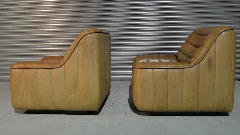 Vintage De Sede DS 84 Armchairs, Switzerland, 1970s In Good Condition For Sale In Cambridgeshire, GB
