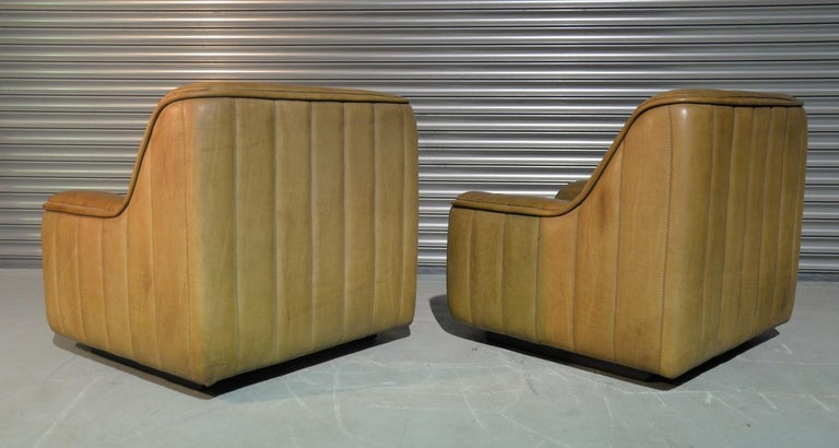 Late 20th Century Vintage De Sede DS 84 Armchairs, Switzerland, 1970s For Sale