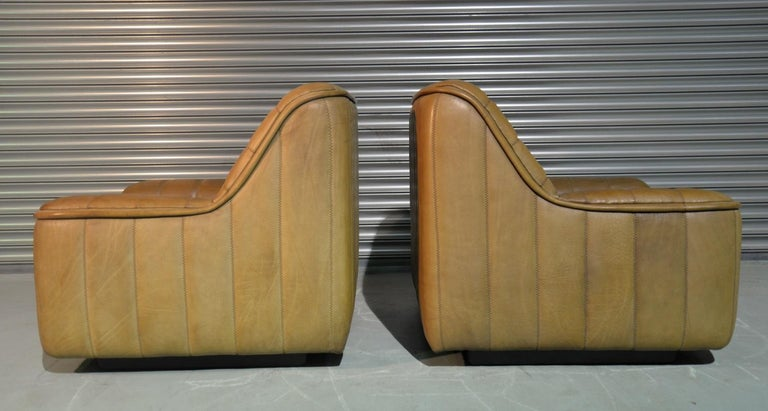 Leather Vintage De Sede DS 84 Armchairs, Switzerland, 1970s For Sale