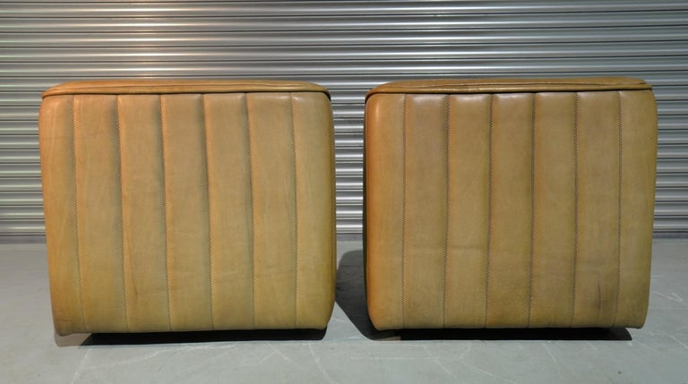 Vintage De Sede DS 84 Armchairs, Switzerland, 1970s For Sale 1