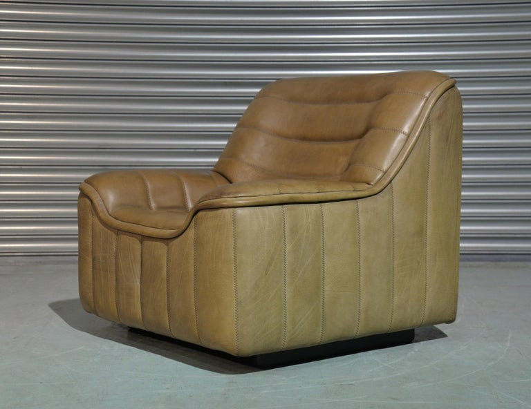 Discounted airfreight for our International customers ( from 2 weeks door to door )  We are delighted to bring to you an ultra rare vintage De Sede DS 84 armchair. Hand built in the 1970s by De Sede craftsman in Switzerland, this piece is