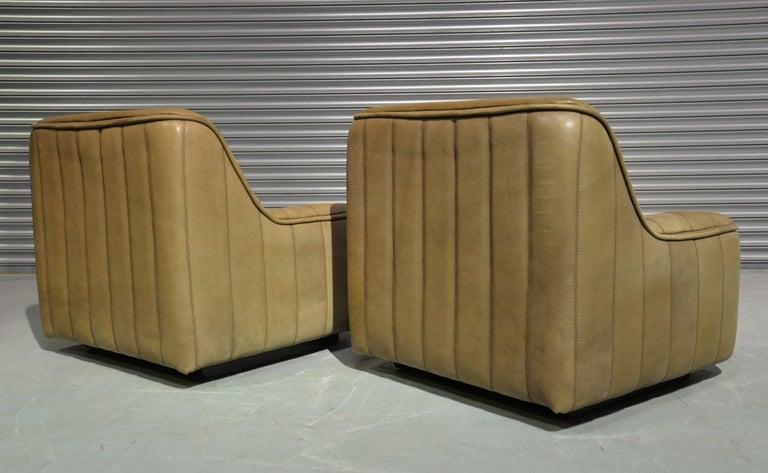 Vintage De Sede DS 84 Armchairs, Switzerland, 1970s For Sale 5