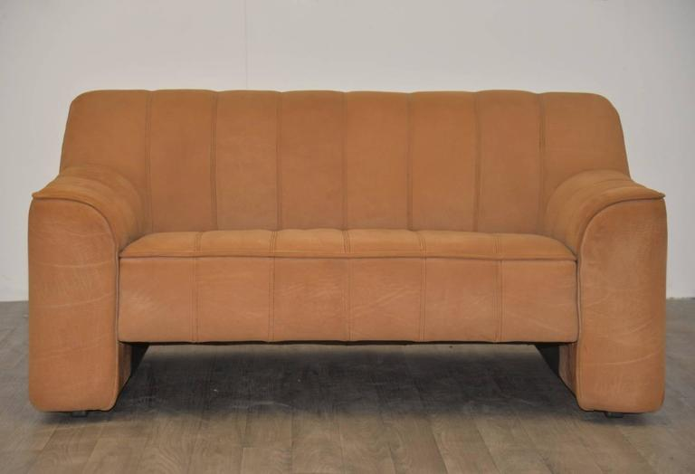 Matching Pair Of Vintage De Sede Ds 44 Sofa And Loveseat 1970s At 1stdibs