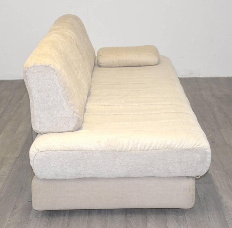 Mid-20th Century Vintage Swiss de Sede DS 85 Daybed and Sofa and Loveseat, 1960s For Sale