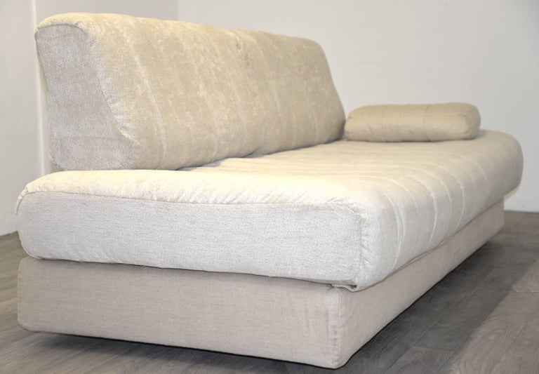 Mid-Century Modern Vintage Swiss de Sede DS 85 Daybed and Sofa and Loveseat, 1960s For Sale