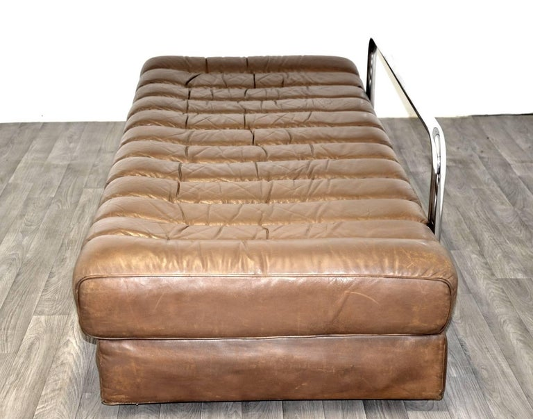 Leather Vintage Swiss de Sede DS 85 Sofa, Daybed and Loveseat, 1960s For Sale