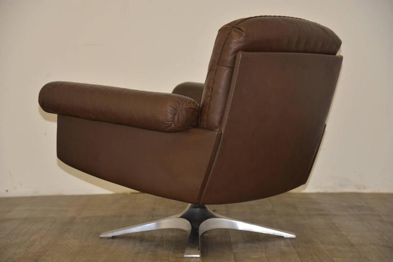 Vintage De Sede Ds 31 Lounge Swivel Armchair 1970s For