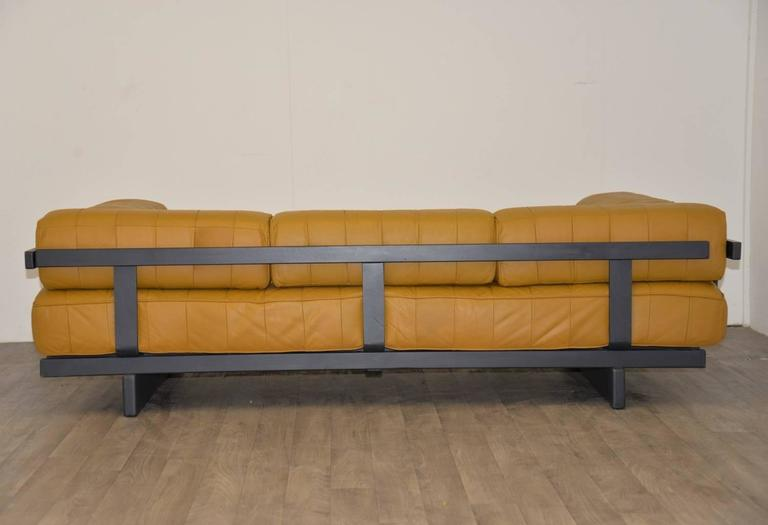 Vintage Swiss de Sede DS 80 leather Daybed, 1960`s 7