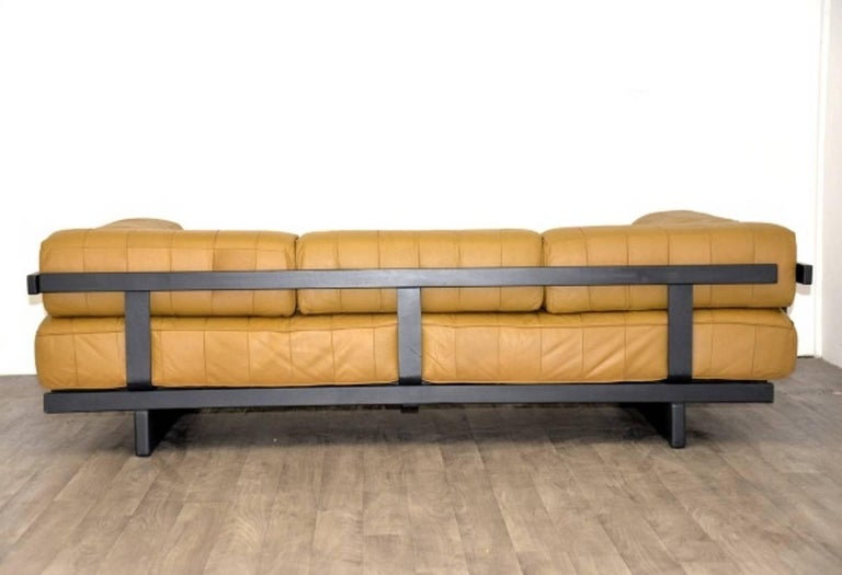 Vintage Swiss de Sede DS 80 leather Daybed, 1960`s 4