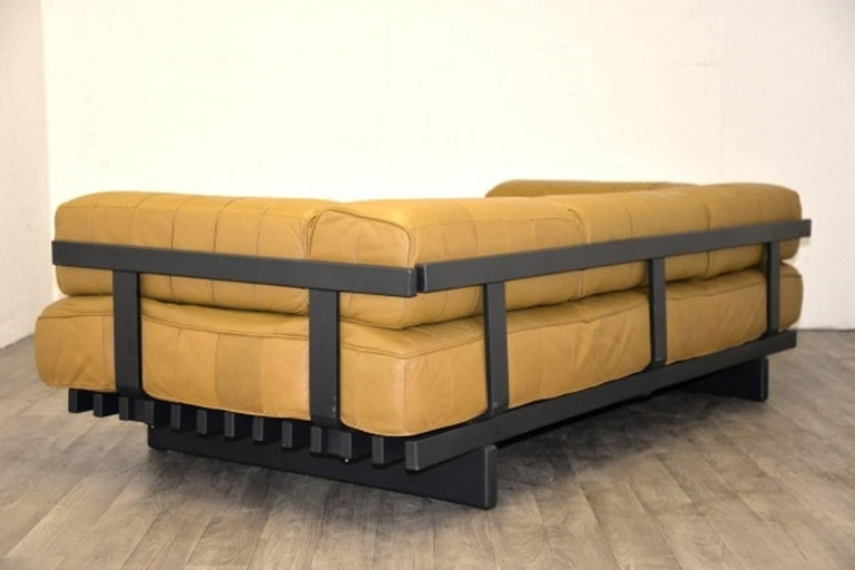 Vintage Swiss de Sede DS 80 leather Daybed, 1960`s 5