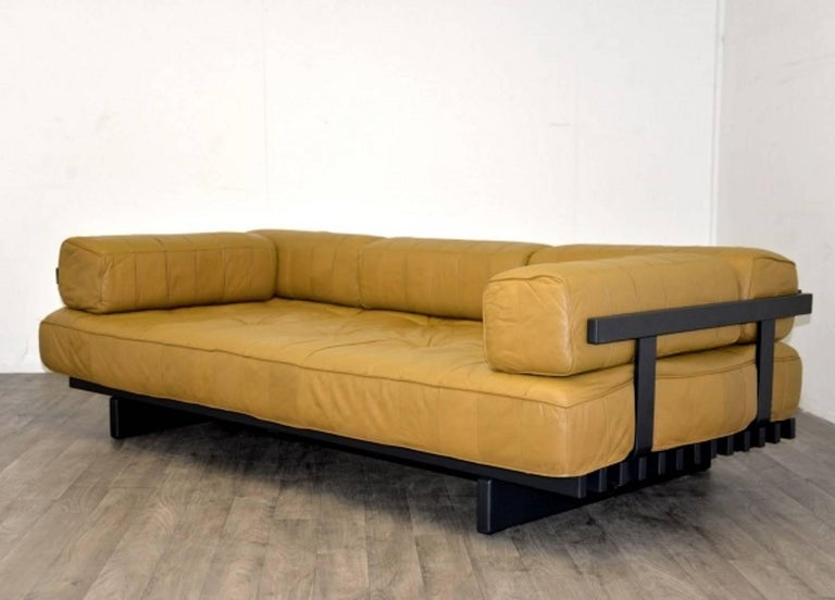 Vintage Swiss de Sede DS 80 leather Daybed, 1960`s 3
