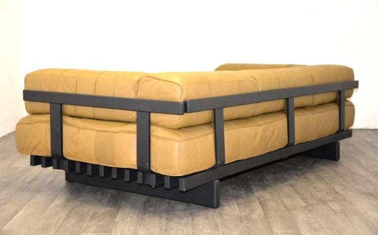 Leather Vintage Swiss de Sede DS 80 leather Daybed, 1960`s For Sale