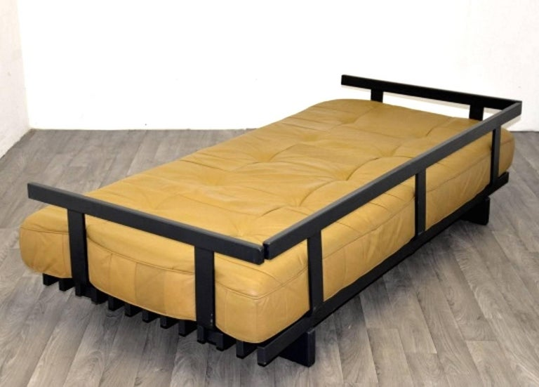 Vintage Swiss de Sede DS 80 leather Daybed, 1960`s For Sale 2