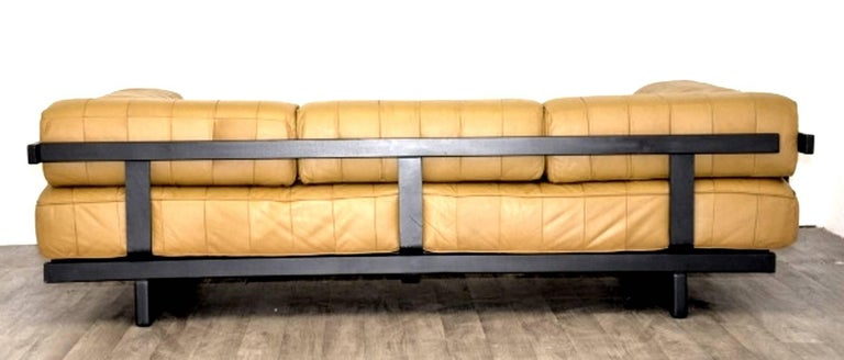 Vintage Swiss de Sede DS 80 leather Daybed, 1960`s For Sale 1