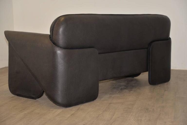 Vintage Swiss de Sede 'DS 125' Sofa and Armchair Designed by Gerd Lange, 1978 4