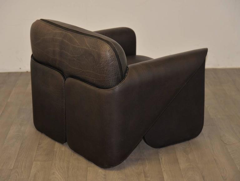 Vintage Swiss de Sede 'DS 125' Sofa and Armchair Designed by Gerd Lange, 1978 8