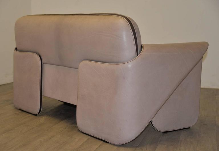 vintage swiss de sede ds 125 sofa by gerd lange 1978 at. Black Bedroom Furniture Sets. Home Design Ideas