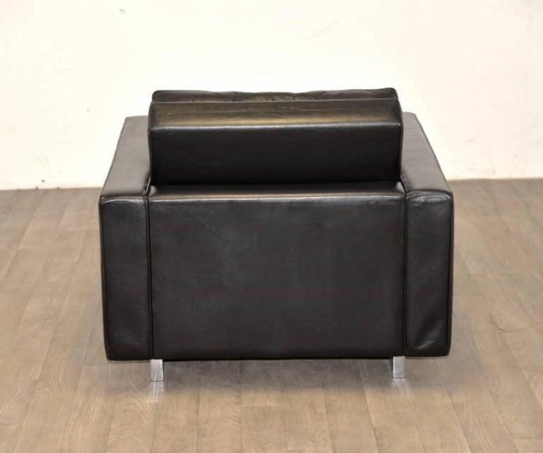 """Vintage de Sede DS 3A """"New Yorker"""" Armchair and Ottoman, 1970s 5"""