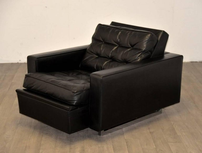 """Vintage de Sede DS 3A """"New Yorker"""" Armchair and Ottoman, 1970s 4"""