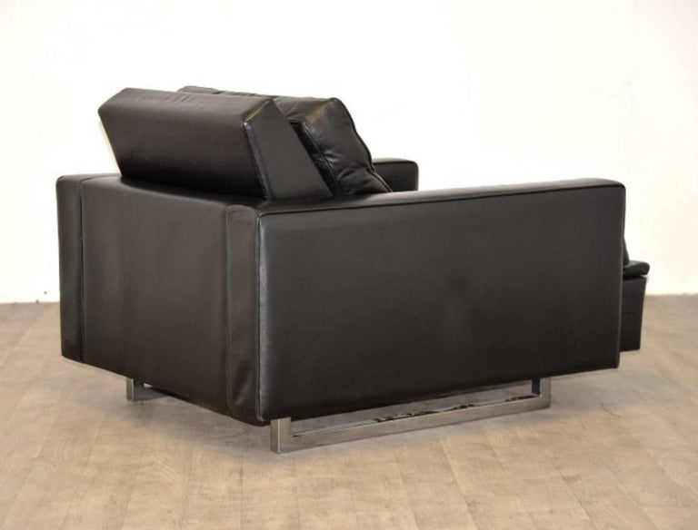 """Vintage de Sede DS 3A """"New Yorker"""" Armchair and Ottoman, 1970s 6"""
