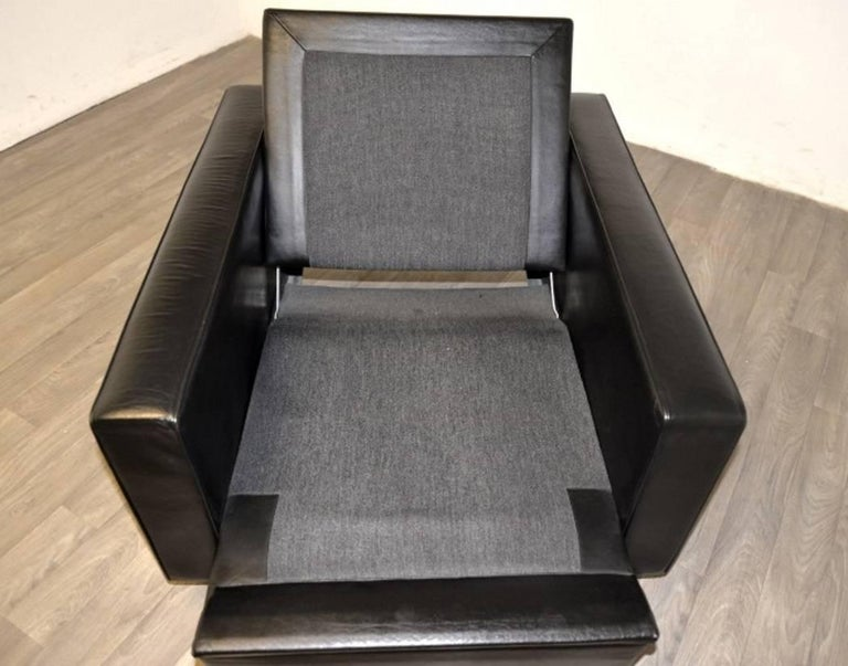 """Vintage de Sede DS 3A """"New Yorker"""" Armchair and Ottoman, 1970s 9"""
