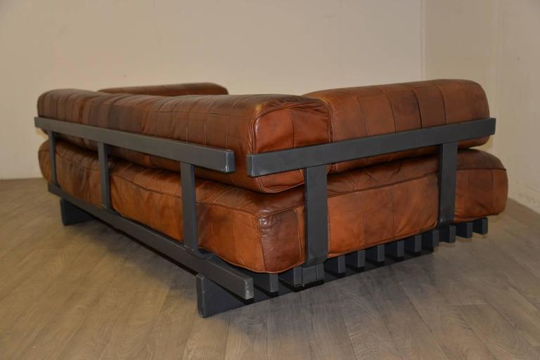 Vintage Swiss De Sede Ds 80 Leather Daybed, 1960s 6