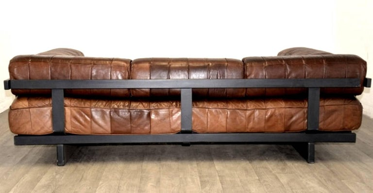 Vintage Swiss De Sede Ds 80 Patchwork Leather Daybed, 1960s For Sale 3