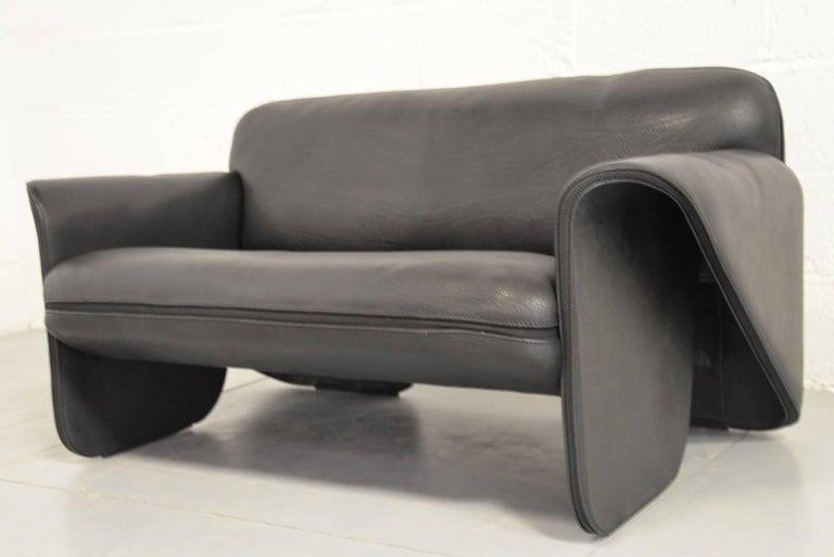 vintage swiss de sede ds 125 sofa designed by gerd lange. Black Bedroom Furniture Sets. Home Design Ideas