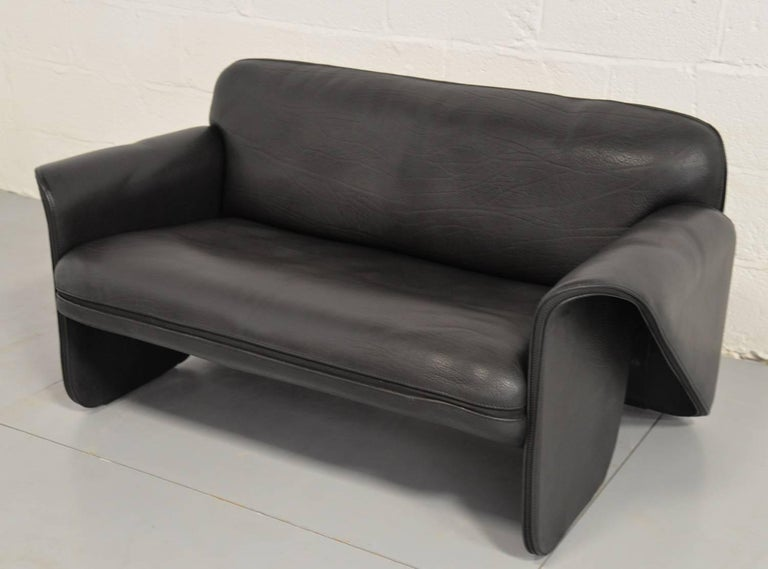 vintage swiss de sede ds 125 sofa designed by gerd lange. Black Bedroom Furniture Sets. Home Design Ideas