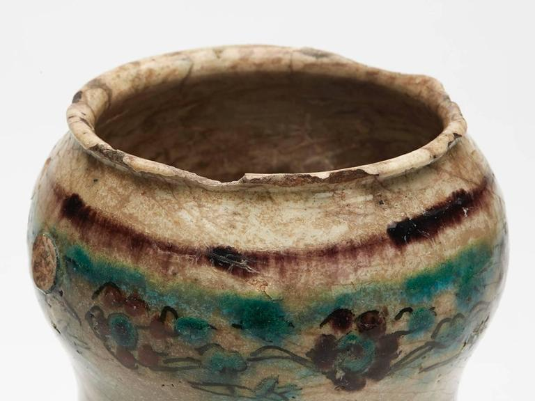 Jar from PHDS Wikramaratna Islamic Pottery Collection For Sale 3