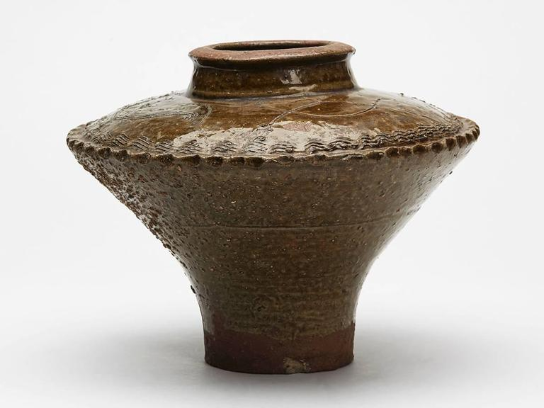 Antique Korean Joseon Dynasty Pottery Vase 17th Century For Sale At 1stdibs