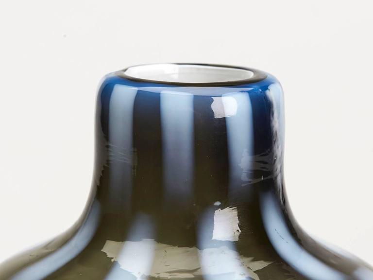 Mid-Century Modern Vintage Italian Murano Pezzato Art Glass Vase, 20th Century For Sale