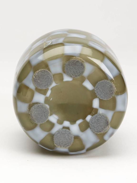 Vintage Italian Murano Pezzato Art Glass Vase, 20th Century For Sale 2