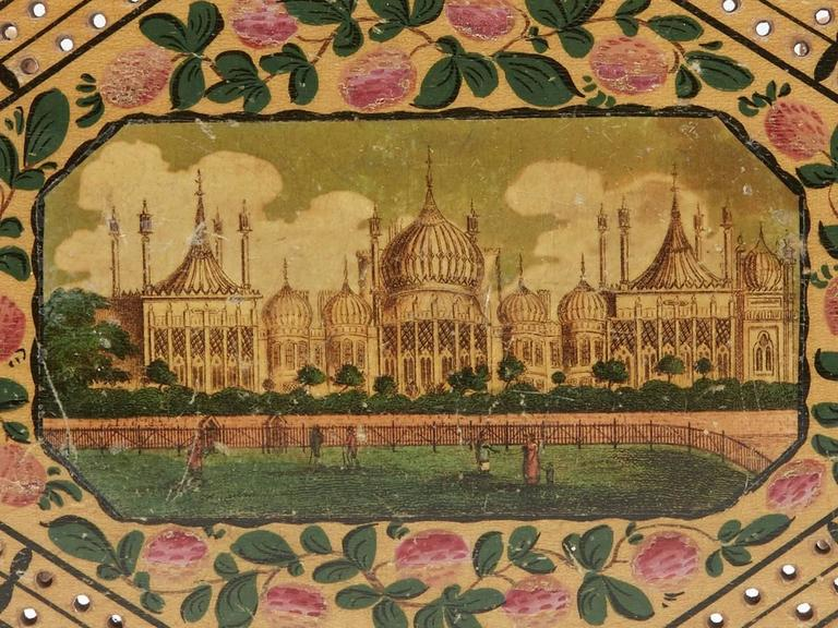 Georgian Brighton Pavilion Cribbage Board, circa 1800 In Excellent Condition For Sale In Bishop's Stortford, Hertfordshire