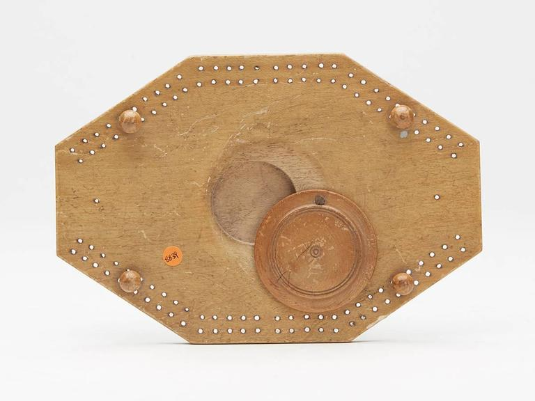 Late 18th Century Georgian Brighton Pavilion Cribbage Board, circa 1800 For Sale