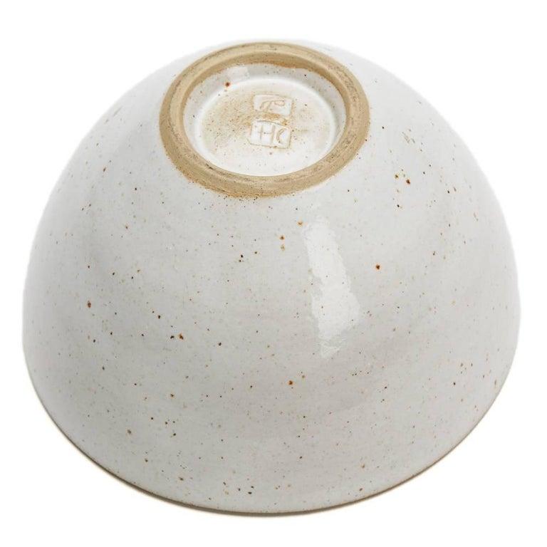 Lucie Rie & Hans Coper Studio Pottery Mustard Glazed Bowl For Sale 1