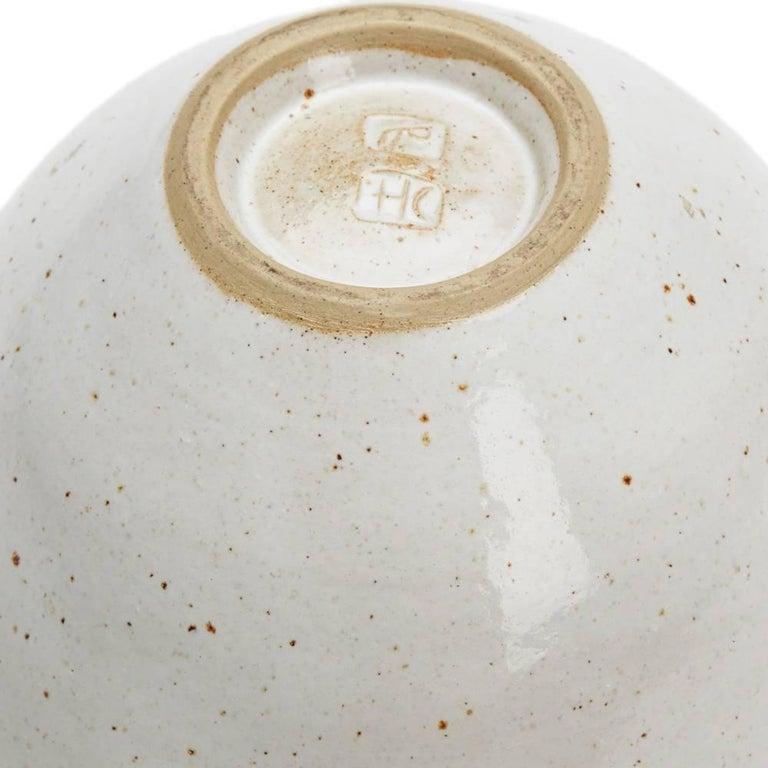 Lucie Rie & Hans Coper Studio Pottery Mustard Glazed Bowl For Sale 2