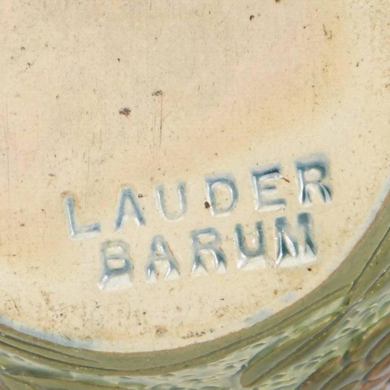 Alexander Lauder Art Pottery Sgraffito Bird Vase, circa 1900 For Sale 1