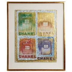 Pietro Psaier Chanel Perfume Bottles Mixed-Media, 1970s