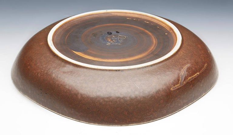 Vintage Swedish Hertha Bengtson for Rörstrand Art Pottery Bowl, 20th Century 6