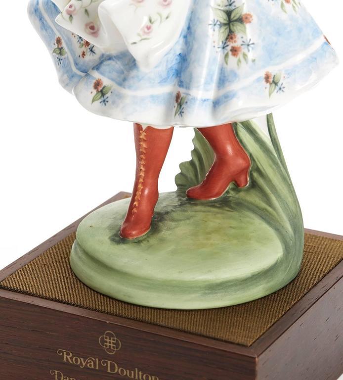 Royal Doulton Polish Dancer Figurine, 1980 For Sale 1