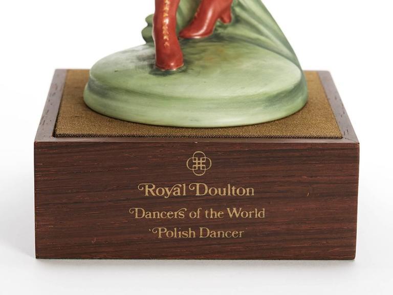 Royal Doulton Polish Dancer Figurine, 1980 For Sale 2
