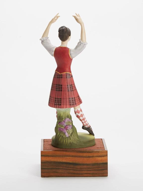 English Royal Doulton Scottish Dancer Figurine, 1978 For Sale