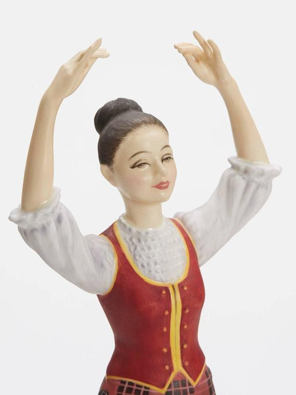 Late 20th Century Royal Doulton Scottish Dancer Figurine, 1978 For Sale