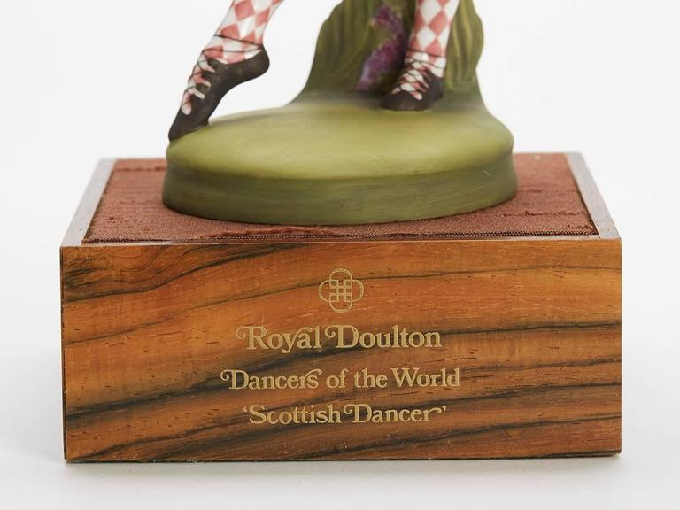 Royal Doulton Scottish Dancer Figurine, 1978 For Sale 1