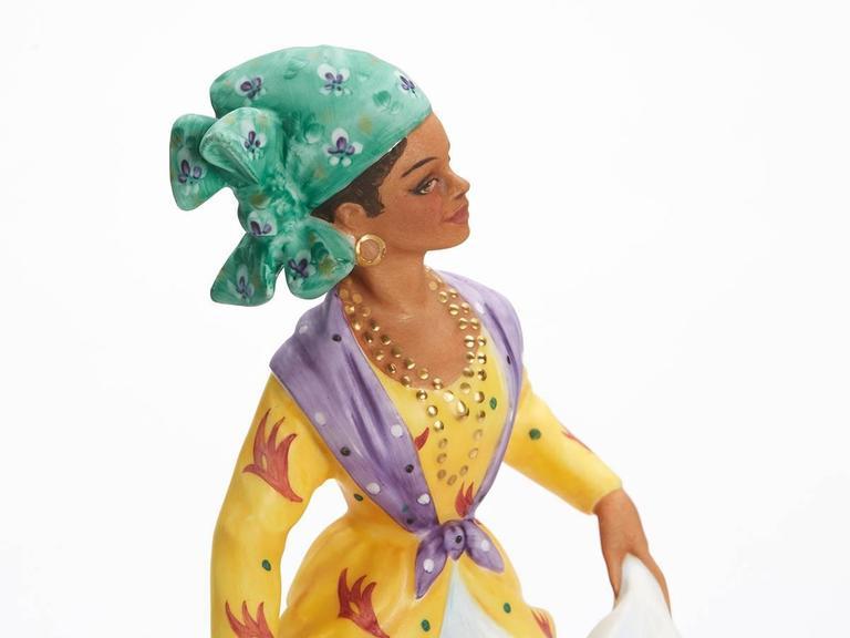 Royal Doulton West Indian Dancer Figurine, 1981 In Good Condition For Sale In Bishop's Stortford, Hertfordshire