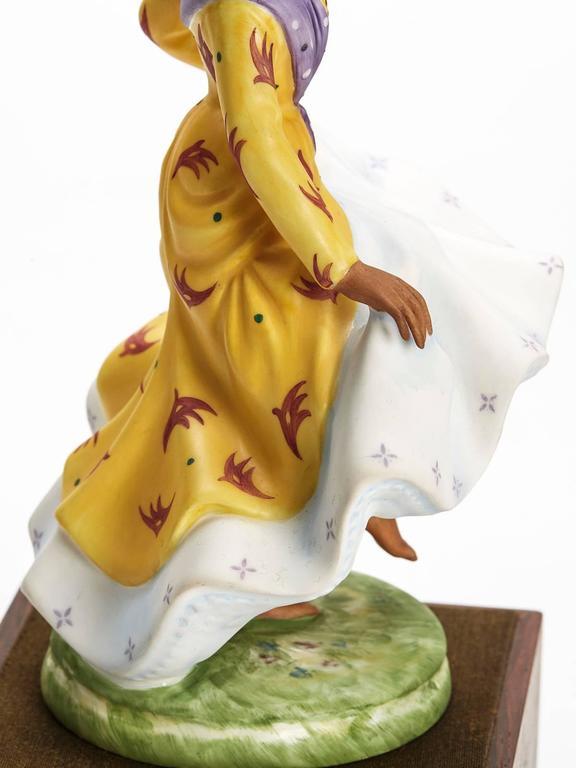 Porcelain Royal Doulton West Indian Dancer Figurine, 1981 For Sale