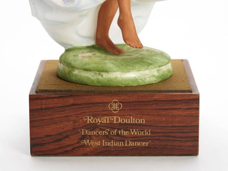 Royal Doulton West Indian Dancer Figurine, 1981 For Sale 2